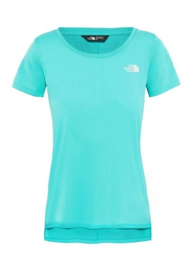 The North Face Quest Kadın T-Shirt Mavi Mavi